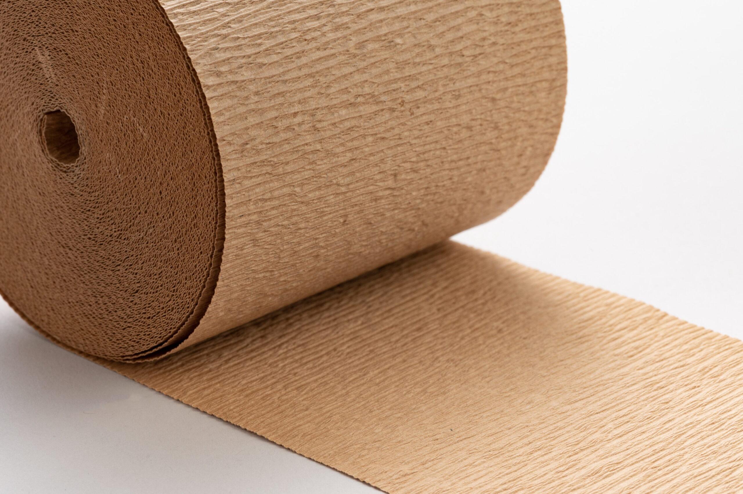クレープ加工紙